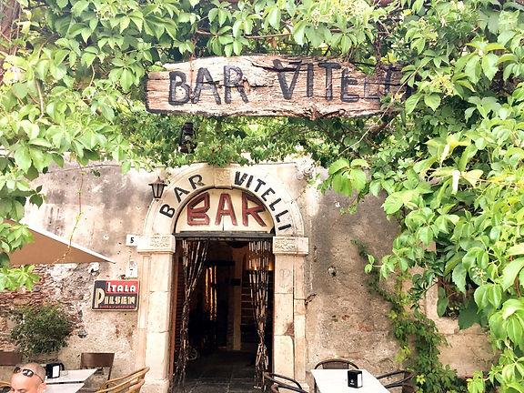 Sicilia Savoca Bar Vitelli il Padrino