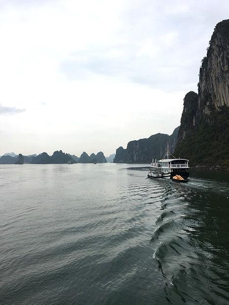 Vietnam Halong Bay alba