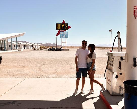 California Route 66 Roy's Motel cafè