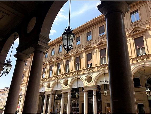 Portici Via Roma Torino
