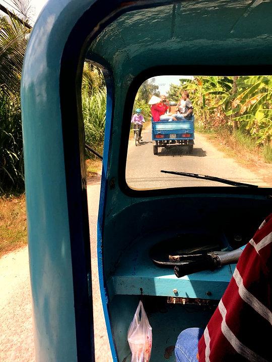 Vietnam Instagram Spots tuk tuk ride