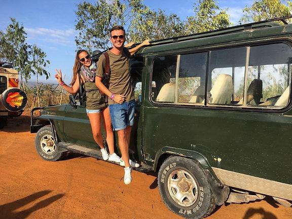 Kenya Safari savana jeep