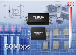 Toshiba Introduces Photocouplers for High-Speed Communications