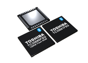 Toshiba Introduces New Bluetooth® 5-Compliant ICs with Industry-Leading Sensitivity Level of -105dBm