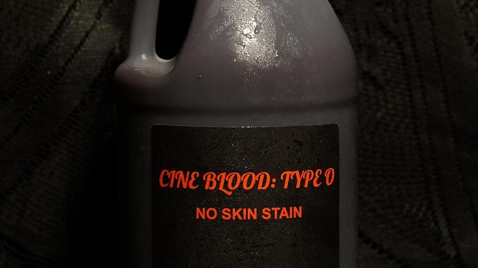 CINE BLOOD: TYPE O- Half Gallon