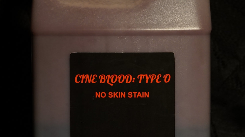 CINE BLOOD: TYPE O - GALLON