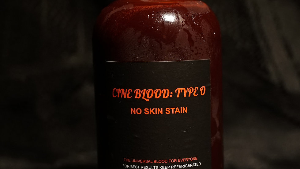 CINE BLOOD: TYPE O- 8oz