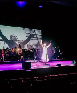 Eva Peron in Evita