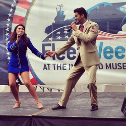 USO Show Troupe, Fleet Week
