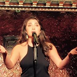Performing at 54 Below