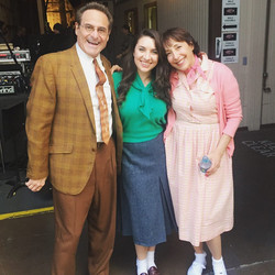 With Barry Pearl and DiDi Conn