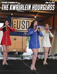 USO Show Troupe in Kwajalein