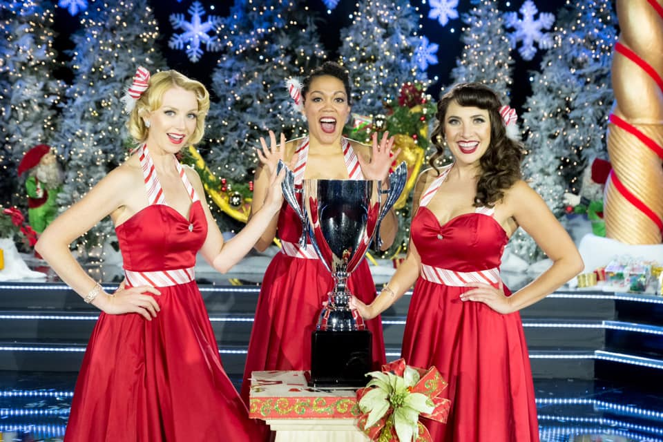 Winning the Christmas Caroler Challenge on the CW!