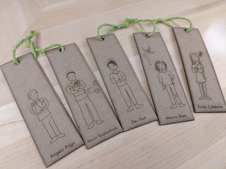 Laser Cut Bookmarks