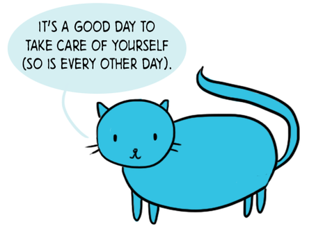 Taking care of yourself even when you feel like you can´t