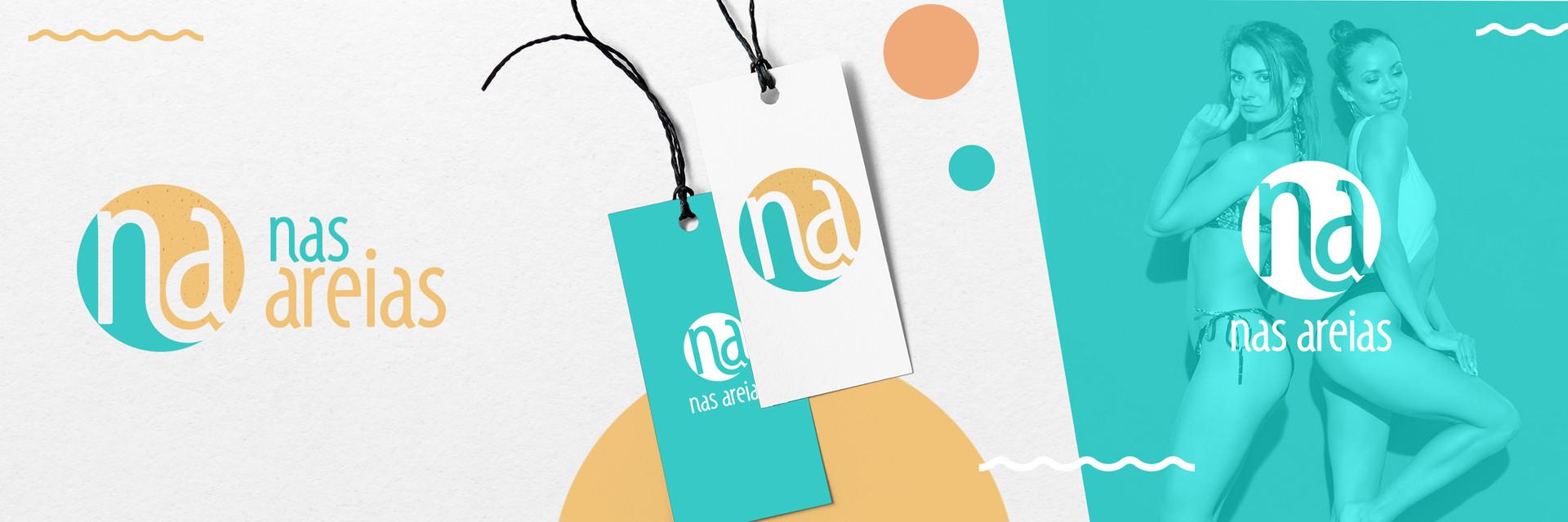 Logotipo Nas Areias