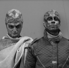 Secretário de Zarog (Frederico Vittola) e Zarog (Cristian Verardi)