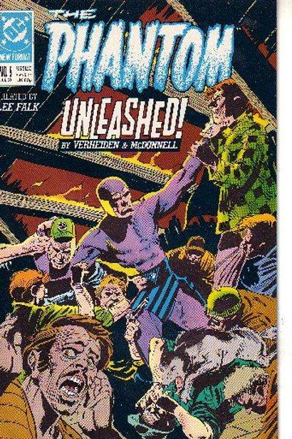 PHANTOM DC,13 ISSUES, 1989-90 5