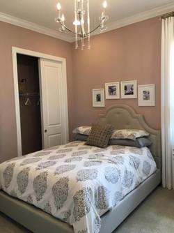 Bedroom Walls and Closet Door Paintng