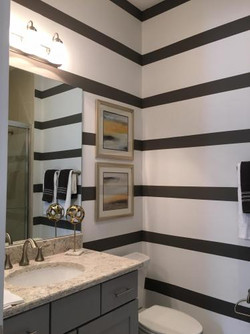 Detail Bathroom Multi Color Painting