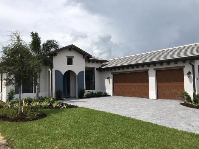 Whole Exterior, Garage Doors and Trim Painting