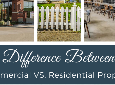 Difference Between Residential and Commercial Property