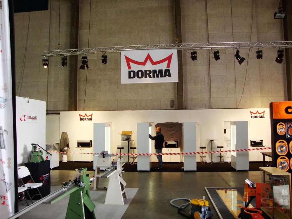 Messeløsning Dorma 2014