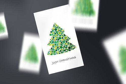 Til & Fra kort Just Christmas