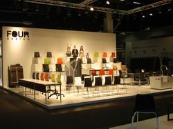 Messestand Four Design Köln 2012