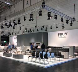 Messestand Four Design Köln 2016
