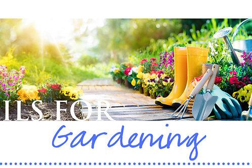 Gardening Make & Take