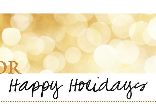 Happy Holidays w/Matching Invite