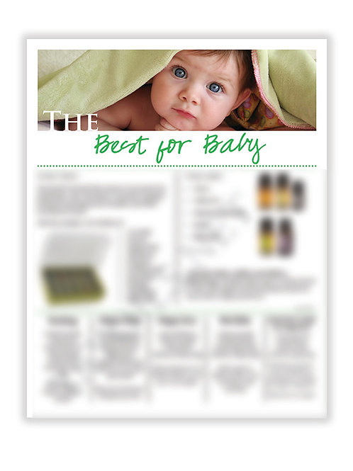US Best for Baby (8.5X11 size)