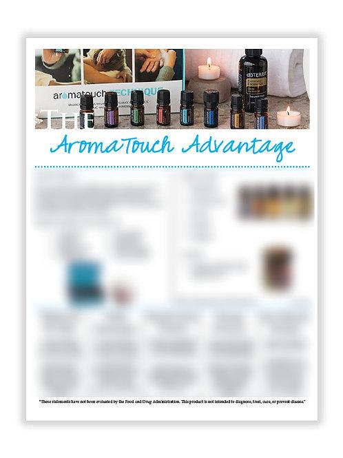 US AromaTouch Advantage (8.5X11 size)