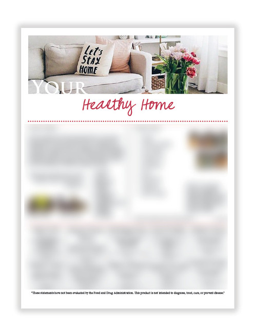 US Healthy Home (8 5X11 size)