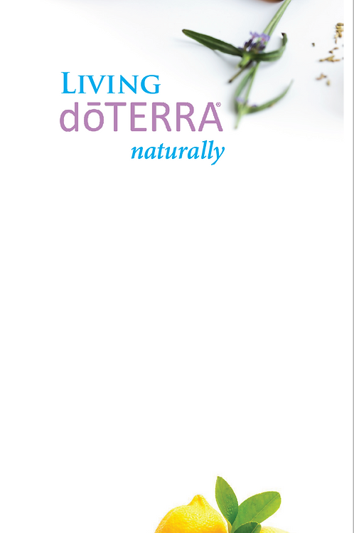 UK Intro to doTERRA Trifold