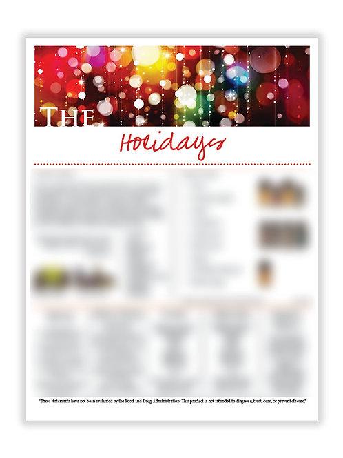 US Holidays (8.5X11 size)