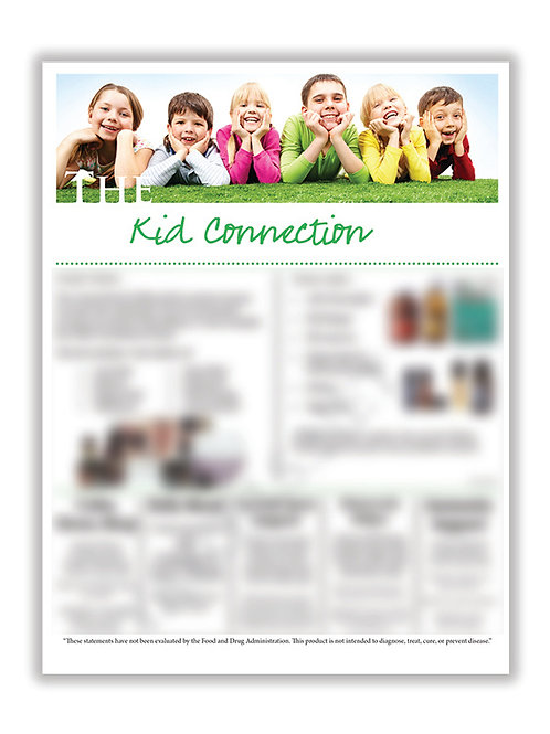 US Kids Connection (8.5X11 size)