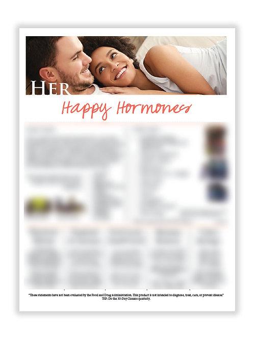 US Happy Hormones (8.5X11 size)
