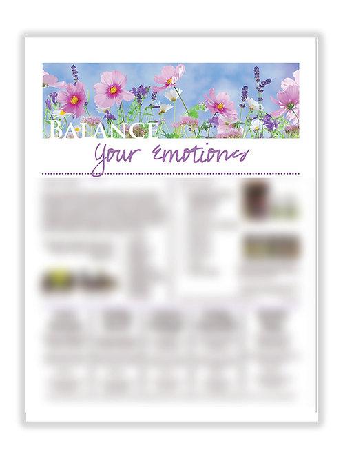 US Balance Your Emotions (8.5X11 size)