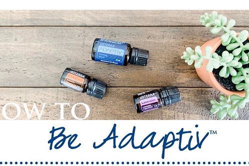Be Adaptiv