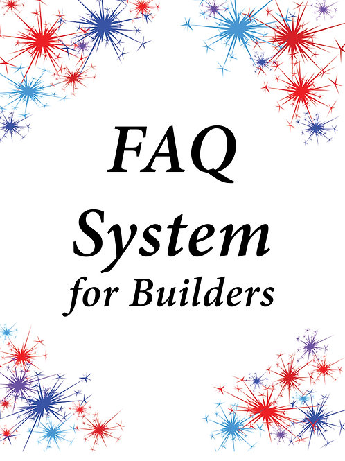 FAQ System for Builders