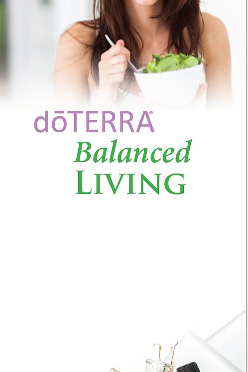 US Balanced Living Trifold (8.5X11 size) Non-Oil (haircare, skincare, etc)