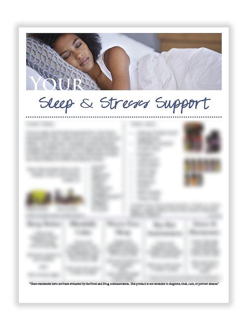 US Sleep & Stress Support (8.5X11 size)