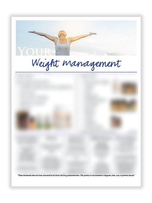 US Weight Management (8.5X11 size)