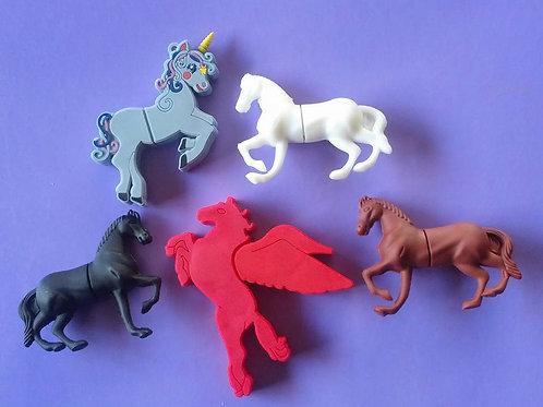 Horse / unicorn 8g usb sticks