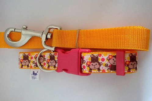 Monkey collar and lead sets
