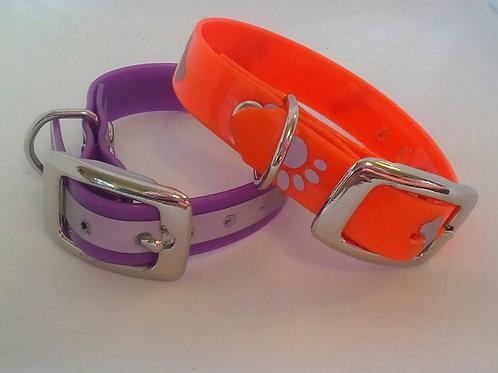Reflective pvc ferret collars