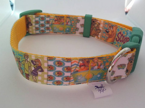 Scooby Doo adjustable dog collar - medium