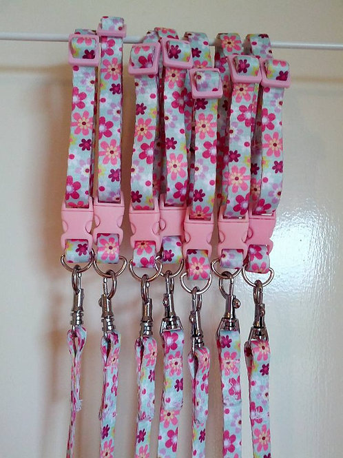 Puppy / cat / small dog collar and leash sets